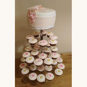 Cupcake Pasta Kulesi